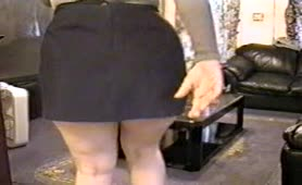 Sexy secretary farting