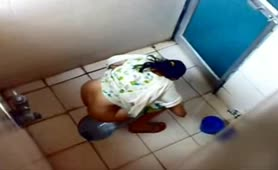 Compilation of Indian girls pooping