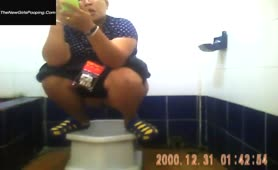 Asian pooping girls