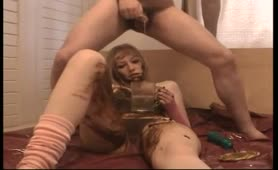Blonde beauty fucked hard