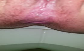 Ex wife shits in toilet