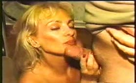 Vintage video of amateur couple smearing poop