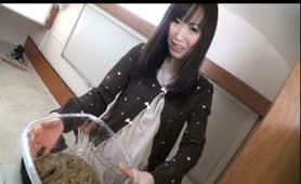 Beautiful Japanese college girls pooping